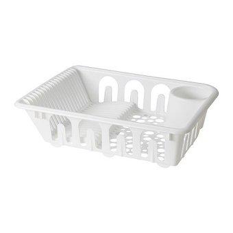 IKEA Flundra Pengering Piring Dish Drainer Putih