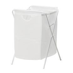 Ikea Jall Laundry Bag Keranjang Cucian - Putih