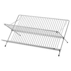 IKEA Kvot Rak Pengering Piring Rak Piring Stainless Steel