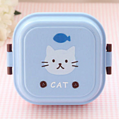 Imixlot Animal Kids Meal Box Cute Mini Double Layer Lunch Box - Intl