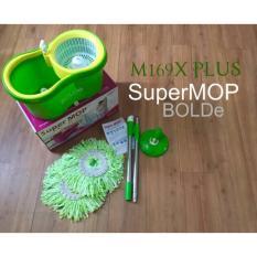ISMART - SUPER MOP BOLDE M-169X+ PLUS NEW ALAT PEL LANTAI OTOMATIS BEST SELLER [Hijau]