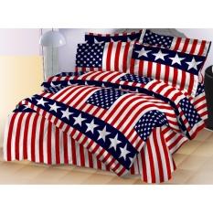 Istanaku Bedcover dan Sprei Uk.140x200 - Bendera USA