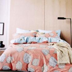ISTANAKU Set Bedcover Dan Seprei Pandora Peach 120X200