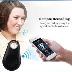 IT-06 ITag Anti Lost Alarm Theft Device Self-portrait For Bluetooth 4.0 Smartphone (Black) (Intl)