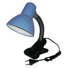 Jiamei Lampu Meja - Baca - Belajar Jepit Switch JM-108S Biru