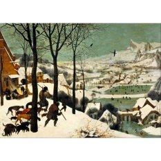 Jiekley Fine Art - Lukisan Hunters in the Snow (Winter) Karya Pieter Brueghel the Elder - 1565