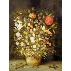 Jiekley Fine Art - Lukisan Still Life with Flowers Karya Jan Brueghel (I) - 1600-1630