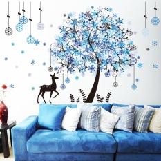 Kepingan Salju Natal Dinding Stiker Daftar Harga terbaik Terkini Source · Kepingan salju kepribadian pada kaca jendela perekat diri wallpaper dinding stiker