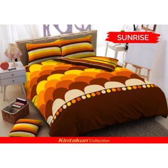 Harga Kintakun Deluxe Sunrise Sprei 180x200