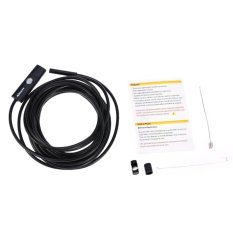 kkmoon 5 5mm 5m 2 in 1 micro usb endoscope brightness waterproof borescope inspection camera for android phones pc intl