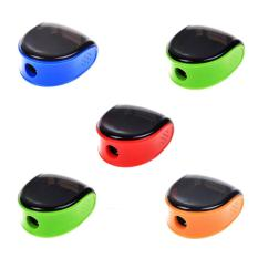 Kobwa 5 Pcs Random Color Plastic Manual Pencil Sharpener