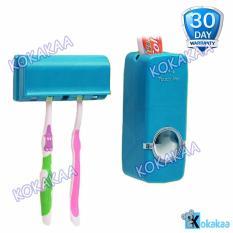 Kokakaa Dispenser Odol TouchMe Otomatis Holder Sikat Gigi Bundle - Biru Muda