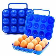 Kotak Wadah Tempat Penyimpanan Telor Telur Isi 12 Tas Egg Box Case Master .