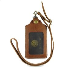 Kulid ID Card Holder Kulit Asli - Coklat