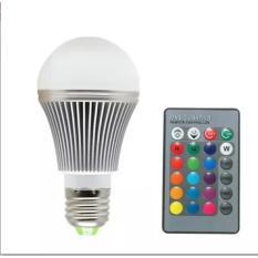 Lampu LED 16 Warna 3 Watt Dengan Remote