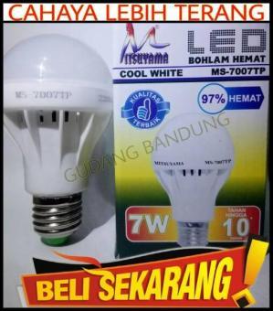 Jual Lampu led mitsuyama 12 watt extra terang lampu led murah led Source · murah led Source Lampu Led 7 Watt Mitsuyama Extra Terang