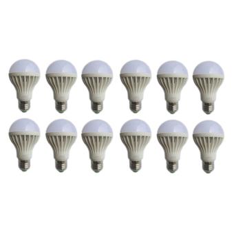 Led Bohlam Lampu 7 Watt 12 pcs - Hinomaru - Hemat Energi