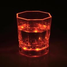 LED Glowing Mug Water liquid Inductive Light-up karaoke bar nightclub Paty shine cup KTV activity party - intl