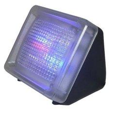 LED TV Simulator Dummy Fake Home Security TV Burglar Intruder Thief Deterrent Crime Prevention Device Built-in Light Sensor Timer US Plug