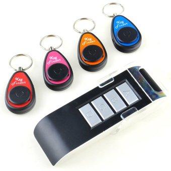 Linemart 4 In 1 Alarm Remote Key Finder Seeker Locator Find Lost Keys Keyring 40m
