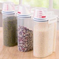 Locked Sealed Food Dispenser Kitchen Storage Mhe0508