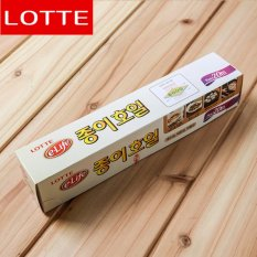 Lotte e-life Eco-Friendly Natural Pulp Cooking & Baking Paper Sheets(25cm×20M) - intl