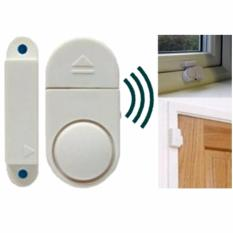 Lucky - Alarm Rumah Canggih Anti Maling - Wireless Door/Window Entry Alarm - 1 Pcs
