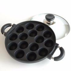 Lunai - Cetakan Takoyaki 15 Lubang / Takoyaki Maker