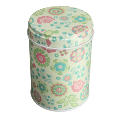 LZ Double Cover Tea Storage Tins Canister Box Caddy Sugar Candy Coffee04