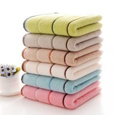 "LZ Hight Quality Set Of 6 Magic Cotton Bath Towel Adult Children 100%Cotton 34""U00d774"" - Intl"