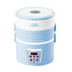 LZ Three Layers Of Electrothermal Lunch Box Electric Heating Heatingboiling Heat Electricity - Intl