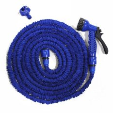 Magic X-Hose Auto Expandable 30 m with Connector Type A - Selang Air Fleksibel - Biru