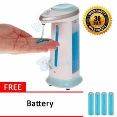 Maxxio Automatic Soap Dispenser Dispenser Sabun Sensor Otomatis Soap Magic Free Battery