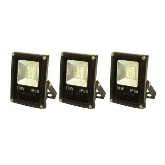 Miyalux Lampu Sorot LED SMD 10watt - Warm white - 3 Buah