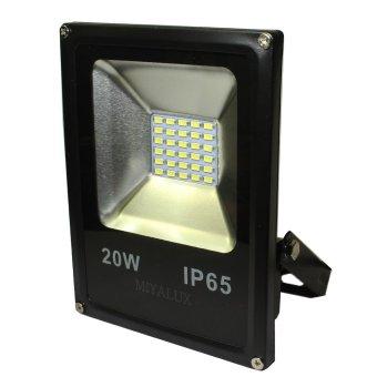 Miyalux Lampu Sorot LED SMD 20watt - Warm white | Lazada