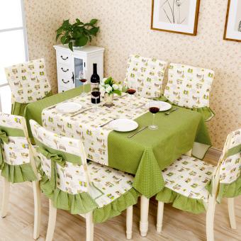 Modern kecil segar kain taplak meja persegi panjang meja kopi