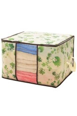 Moonar Foldable Transparent Window Compact Storage Bag For Clothing Quilt