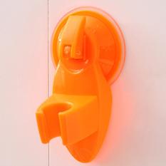 Mop Broom Wall Suction Cup Garage Kitchen Home Organizer Tool Rack Hanger Holder Orange