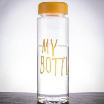 New Clear Botol Warna Warni 500ml Biru Plus Tas; Page - 5 .