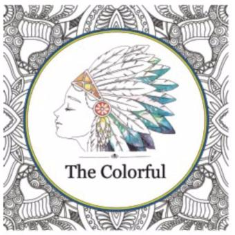 My Style ST 7780 Adult Colouring Book The Colorful
