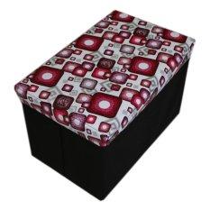 Nadaga Box Duduk Kotak Penyimpanan Box Mainan Tempat Penyimpanan Barang AJ10 .