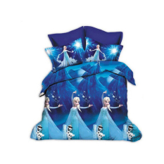 New 3D Printing Cartoon 4pcs Bedding Sets King Size 2 Pillowcases / Bed Linen / Duvet Cover Set
