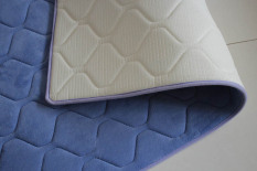 New 40X60CM 50X80CM Korean Absorbent Home Decoration Non-slip Mats Bathroom Toilet Mat Print Floor Door Carpet