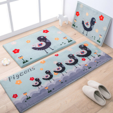 New Arrivel Bird Pattern Car Carpet Floor Mat Home Decoration Door Hallway Mat 40X60CM, 50X80CM