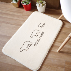 New Car Carpet Floor Kitchen Mat Home Decoration Door Hallway Mat Korean Style Carpet For Living Room Bath