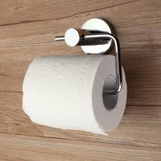 New Chrome Polished Stainless Steel Bathroom Toilet Paper Holder Tissue Roll Bar - intl