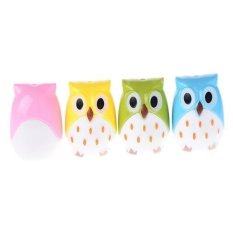New Design Attractive Funny Cute Owl Pencil Sharpener For Children (Color Send Randomly)