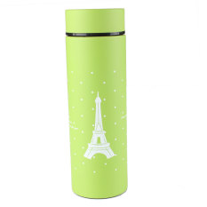 New Eiffel Tower Stainless Steel Thermos Pattern Vacuum Flask Travel Mug Cup Green - Intl
