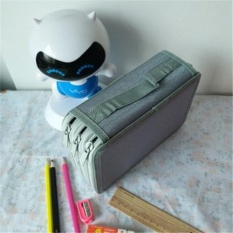 New Portable Drawing Sketching Pencils Pen Zipper Case Holder Bag For 52pcs Pencils For Children - Intl