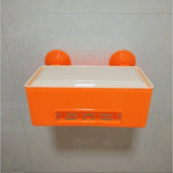 New powerful sucker, waterproof tissue box, toilet, toilet roll,paper box, plastic suction box - intl